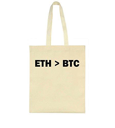 idcommerce ETH > BTC Tote Bag