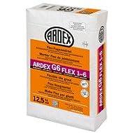 Ardex G6 Flex-Fugenmörtel 5 kg silbergrau, 1-6mm lange verarbeitbar