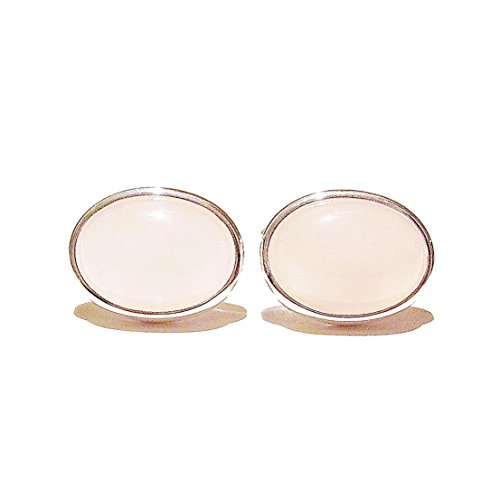 The Black Cat Jewellery Store Boutons De Manchette - Quartz Rose