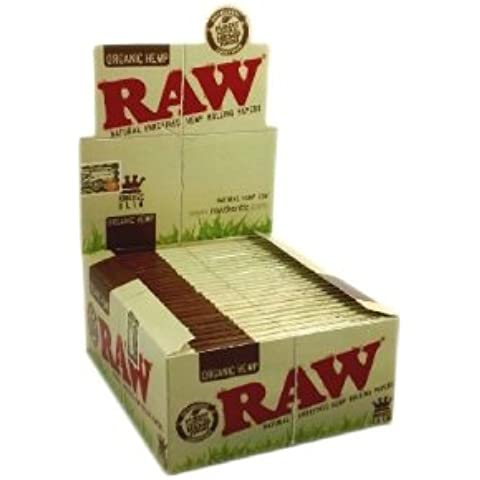Raw – Organic – Cartine King Size – confezione da 5