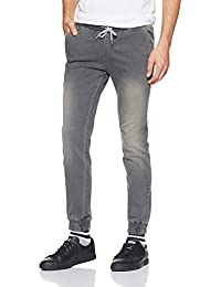 Amazon Brand - Symbol Men's Relaxed Fit Stretchable Jeans