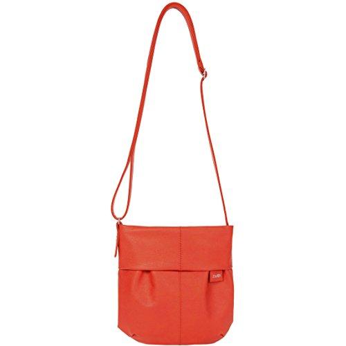 zwei Mademoiselle M5 Unhängetasche 23 cm Coral ( Orange / Rot )