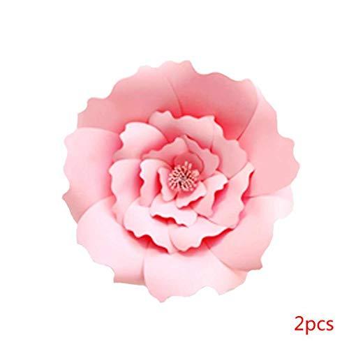 cm 30cm DIY Papierblumen-Kinder Foto Hintergrund Künstliche Blumen Hochzeit Geburtstag Party-Ausgangswand-Dekoration ()