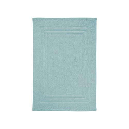 Eiffel Textile Alfombra de Baño, Algodón, Aguamarina, 50x70x10 cm