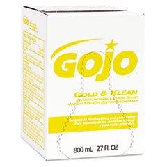 Gold & Klean Lotion Soap Bag-in-Box Dispenser Refill, Floral Balsam,