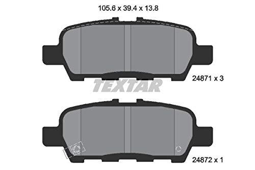 Textar 2487101 Kit Pastiglie per Freno a Disco