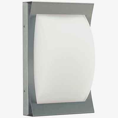 Eingreifen, Pflege (Albert 696217 Außenwandleuchte, Glas, E27, 18 x 8,5 x 28 cm, silber)
