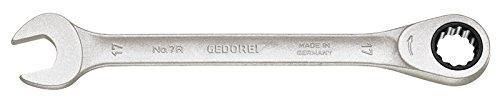 Gedore 7R-19 Clé à cliquet combiné 19 mm, Argent