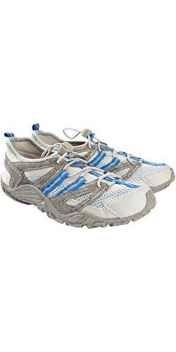 Typhoon Sprint II Aqua Shoes in Grey/Blue 470504 Boot/Shoe Size UK - UK Size 8