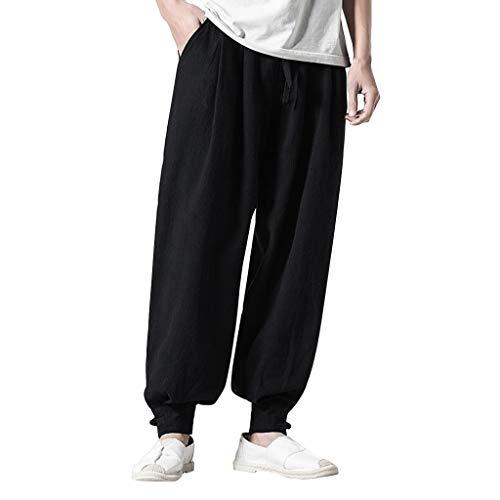 01aabdc22144 Pantaloncini Uomo Estivi Elegante Elasticizzati Moda sotto Lavoro con  Tasche Pant Pantaloni Estivi da Ampi in