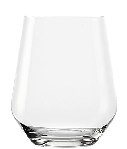 Verre à whisky/Verre à eau Revolution de Stölzle Lausitz, 370 ml, lot de 6, résistant au lave-vaisselle