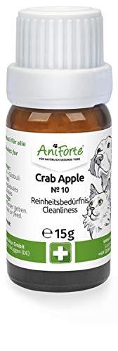 AniForte Crab Apple Globuli für Hunde, Katzen, Haustiere - Bachblüten zur Steigerung des Selbstbewusstseins