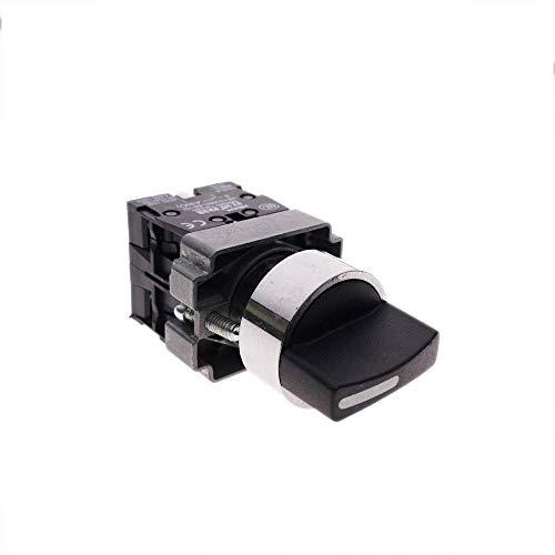 BeMatik - Selector rotatorio enganche 22mm 400V 10A