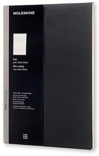 Moleskine Pro Pad, Copertina Rigida, Formato A4, Colore Nero
