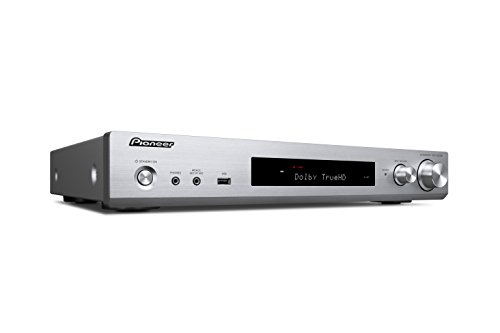 Pioneer VSX-S 520 D-S Slimline AV Receiver (80W pro Kanal, vielfältige Streaming Möglichkeiten, WiFi und Bluetooth, DAB+, HDCP 2.2, AppControl, benutzerfreundliche Fernbedienung) - Pioneer 6-kanal-verstärker