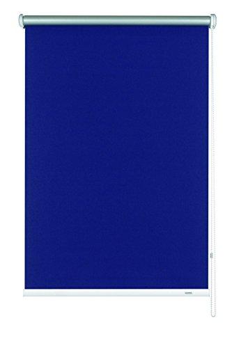 Gardinia 6924112180 Seitenzug-Rollo Thermo Energiesparend mit Energiespareffekt, abdunkelnd, 112 x 180 cm, Marineblau