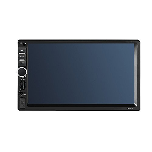 Lecteur stéréo de Voiture MP5 7.0 Pouces Affichage Bluetooth GPS Navigation Fonction Audio Automobile + télécommande