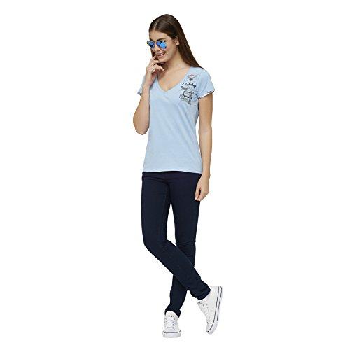 Nebulus T-Shirt BLUE PEARL hellblau