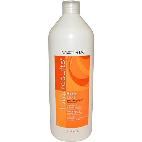 Matrix Total Results Sleek Shampoo - Damen, 1er Pack (1 x 1 l)