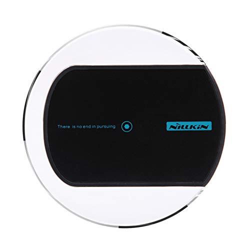 SIXCUP Qi Wireless Automatisch Wireless Charger Auto Handyhalterung 10W Schnelles Handyhalter fürs Auto Wireless Ladegerät für Galaxy S10 / S10 + / S10E / S9 (Schwarz) (Beste Tragbare Wireless-drucker)