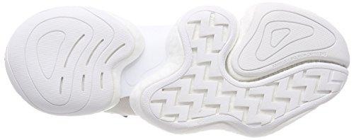 adidas Herren Crazy Byw Basketballschuhe Elfenbein (Ftwr White/ftwr White/real Purple S18)
