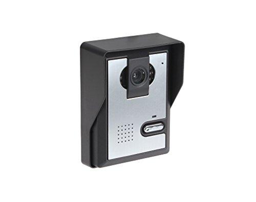 "Amocam 1-Camera 3-LCD Monitor 7"" Video DoorPhone Video Intercom Home Doorbell System IR Night Vision 2-way Hands Free intercom Access Control"