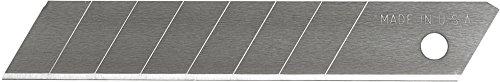 Microsoft Excel Klingen 8Punkt Snap Off Utility Blade, 5Pack, American, Heavy Duty Ersatz Klingen