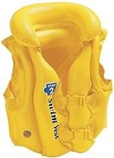 Novicz VEST-596-2 Swimming Vest Jacket, Kids (Yellow)