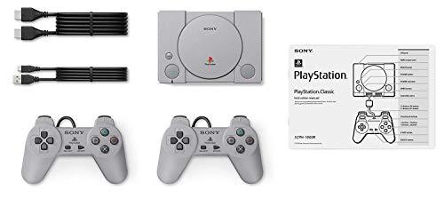 Sony Playstation Klassik-Konsole mit 20 Klassische Playstation Spiele Vorinstallierte Ferien Bundle, Enthält Final Fantasy VII, Grand Theft Auto (Mit Playstation-bundles Gta)