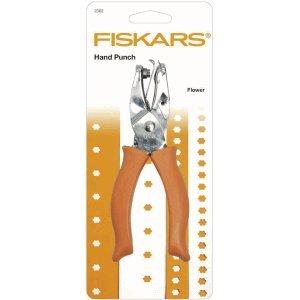 Fiskars Handmotivstanzer 1/4 Zoll Blume - Blume Stanze Fiskar