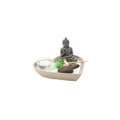 Jardin zen coeur - Objet de décoration avec accessoires -...