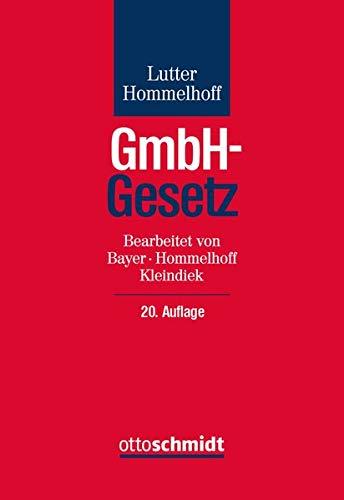 GmbH-Gesetz: Kommentar