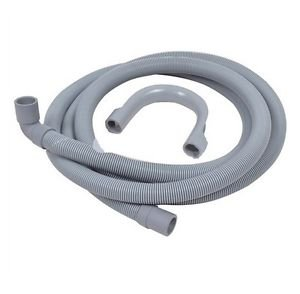 Hoover Candy Washing Machine Dishwasher Drain Hose 2.5 Metre 90° Deg 19Mm / 22Mm by Hoover Candy Wa