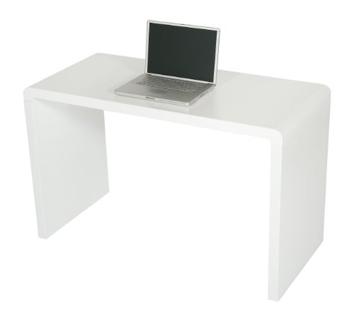 Bargain Levv Matte Finish Computer Desk – White on Line