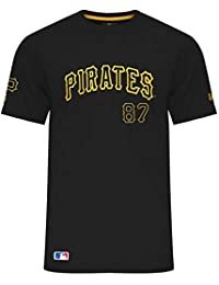 A NEW ERA Era MLB Pittsburgh Pirates Team Apparel Script T-Shirt, Größe: