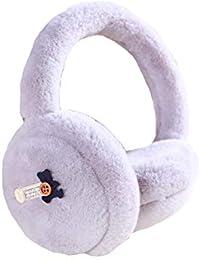 Dall ohrenschützer Ohrenschützer, Ohrenwärmer Gehörschutz Ohrenschutz Damen Warm Winter Draußen (Farbe : Purple)
