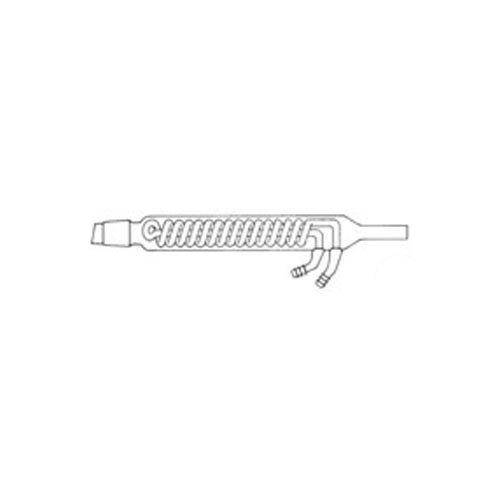 neoLab E-1765 Dimroth-Kühler für Soxhlet, Mantel 250 mm, Kern NS 45, 100 mL (Labor-kühler)