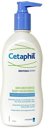 Cetaphil Restoraderm Skin Restoring Body Moisturizer for Dry Itchy Skin (295ml)