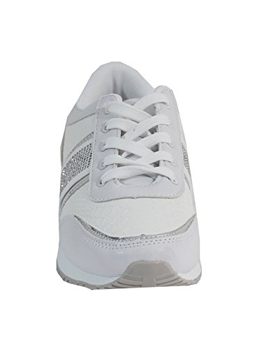 By Shoes - Damen Sneakers Weiß
