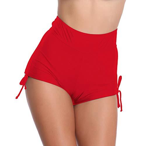 Damen-Tanga,Women Sexy Hollow Out Solid Mid Waist Beach Bikini Swimwear Brief Trunks Badeanzug Thong