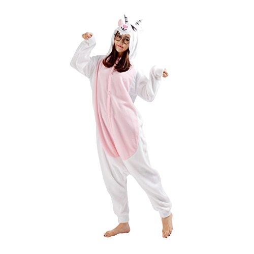 Imagen de darkcom  disfraz de animal unisex para adulto sirve como pijama o cosplay sleepsuit de una pieza cabra