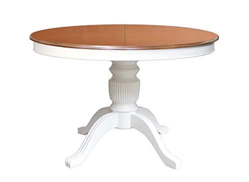 Arteferretto Stub Ronde cm Table à Manger 110 Bicolore T5lF3u1cKJ