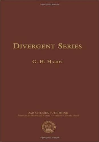 Divergent Series  (American Mathematics Society non-series title)