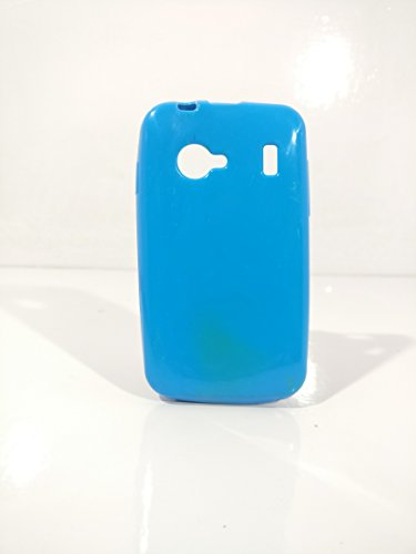 iCandy™ Colorfull Thin Soft TPU Back Cover For Karbonn Smart Lite A51 - Turquoise  available at amazon for Rs.109