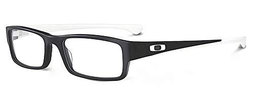 Oakley Rx Eyewear Für Mann Ox1066 Servo Satin Black / White Kunststoffgestell Brillen, 53mm