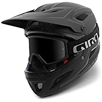 Giro Disciple MIPS Casco, Unisex, Matte Black/Gloss Black, Small