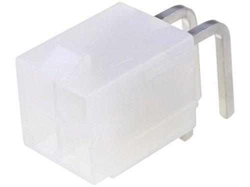 4x MX-39-30-1040 Connector wire-board Series Mini-Fit Jr socket male PIN4 MOLEX (Type Snap Fit)