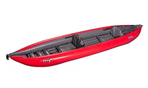 Gumotex – Barca hinchable para 2 personas; perfecta para ir de camping, llevar en la caravana o para el tiempo...
