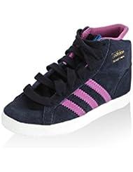 adidas Zapatillas abotinadas Basket Profi I Azul / Morado / Blanco EU 20