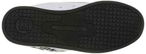 Dc Shoes Court Chaussure Graffik Se D0300927, Scarpe Sportive Uomo Blanc / Charcoal